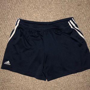 Adidas large athletic shorts w/ drawstring